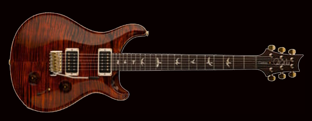 PRS CUSTOM 22 Orange Tiger фото