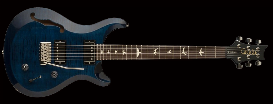 PRS S2 CUSTOM 22 SEMI-HOLLOW Whale Blue фото