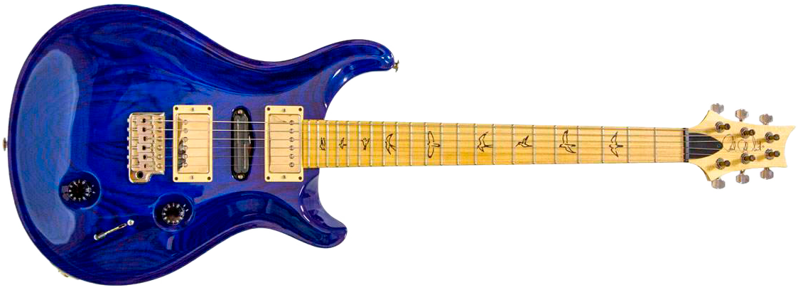 PRS SWAMP ASH SPECIAL Blue Matteo фото